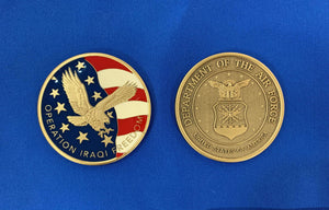 OIF USAF Old Coin