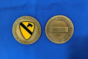 1st Cavalry First For Freedom Coin