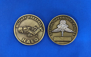 Military Freefall Coin