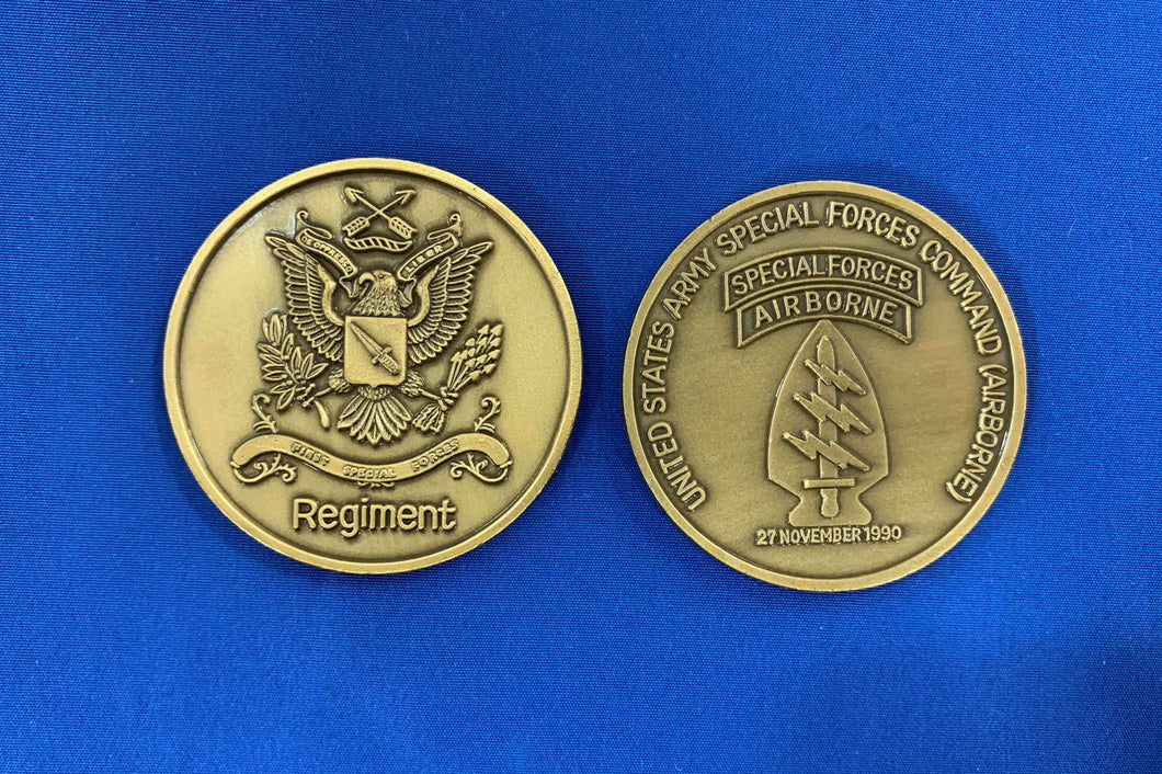 Special Forces Regiment Coin