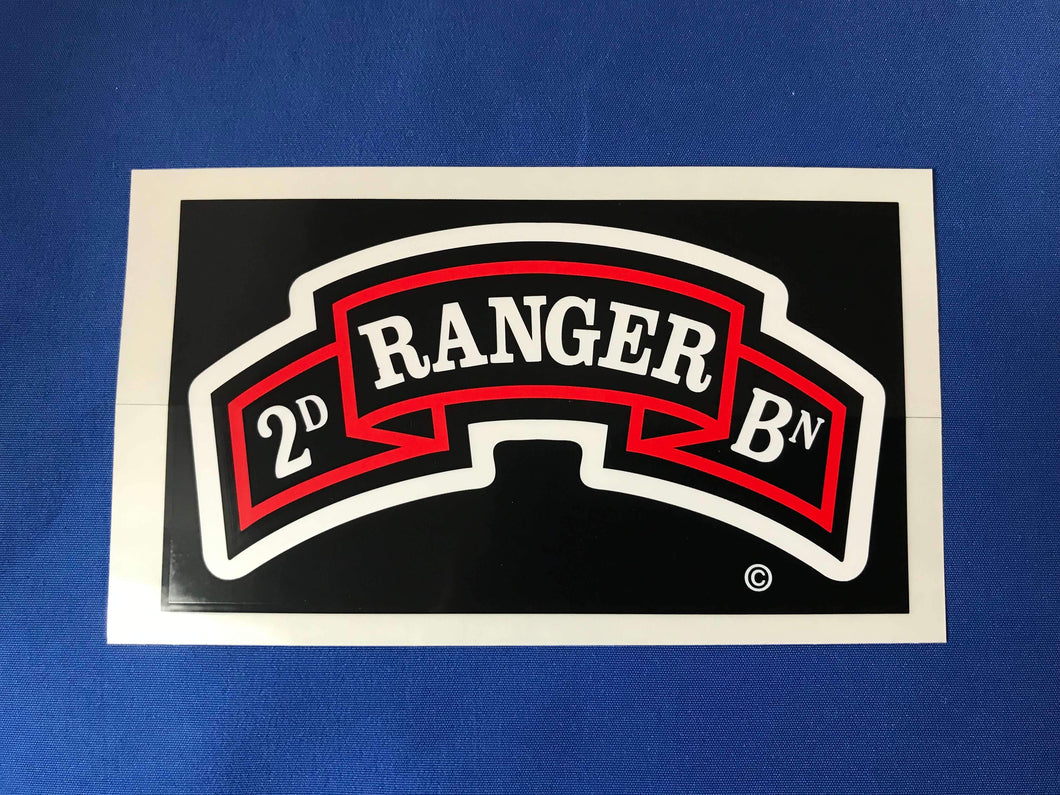 2nd Battalion 4 Color Decal