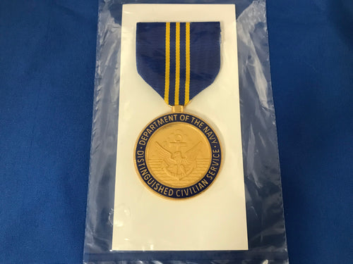 Dept. of the Navy Distinguished Civilian Service Medal