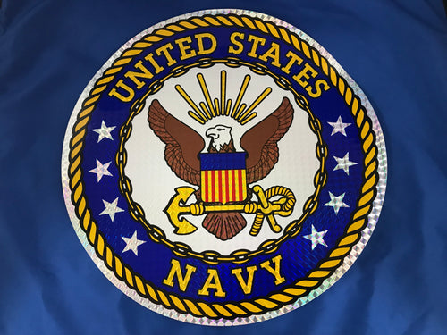 U.S. Navy Circle Sticker