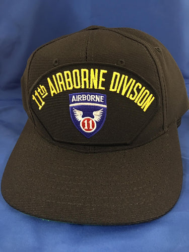 11th Airborne Division Solid Ball Cap