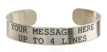 Load image into Gallery viewer, Nickel Custom Memorial Bracelet