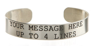 Nickel Custom Memorial Bracelet