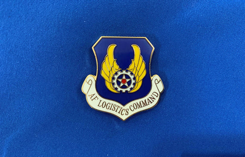 AF Logistics Command Hat Pin
