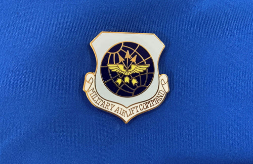 Military Air Lift Command Hat Pin