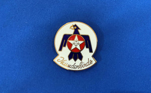 Thunderbirds Hat Pin