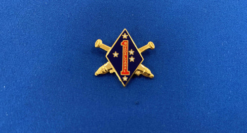 1st Marine Division Hat Pin