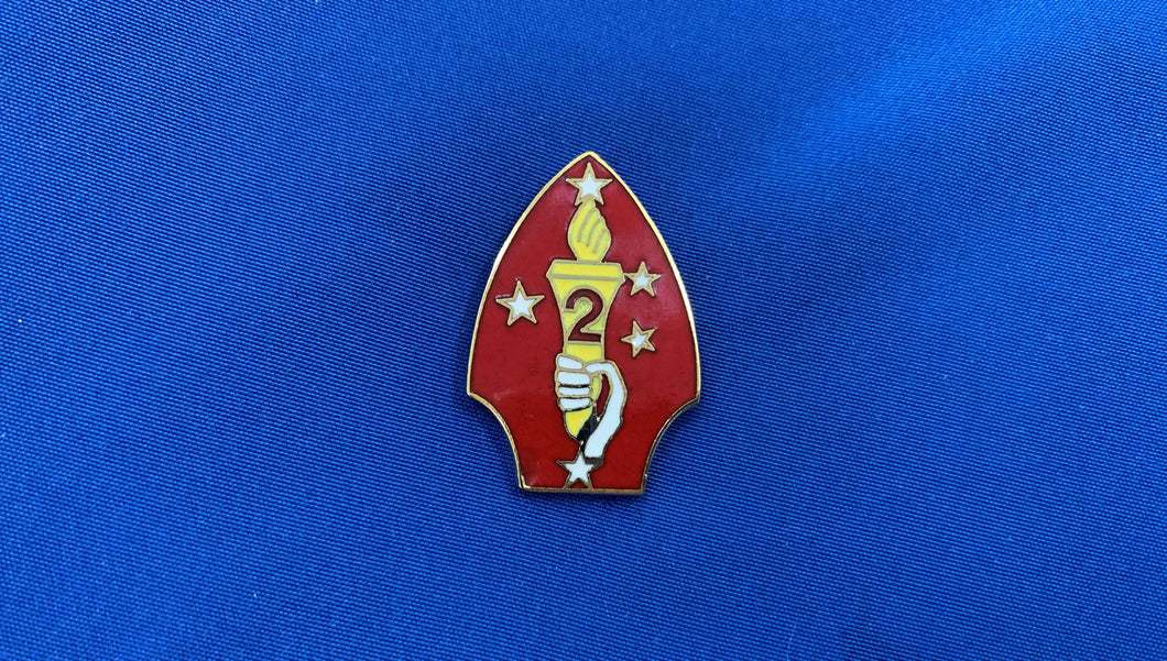 2nd Marine Division Hat Pin