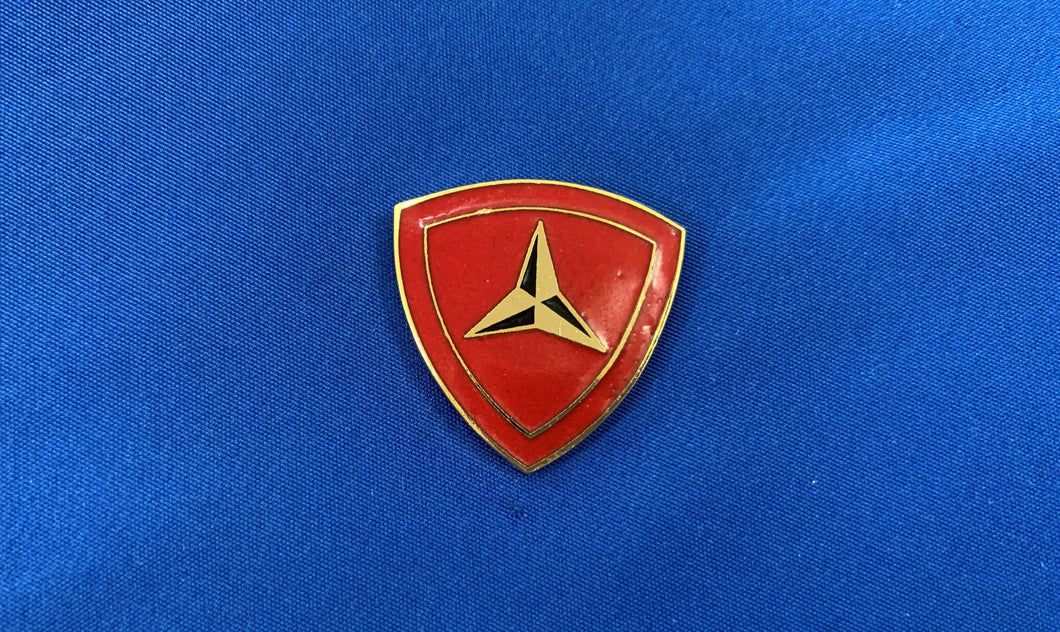 3rd Marine Division Hat Pin