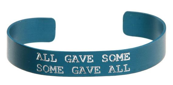 All Gave Some, Some Gave All Bracelet