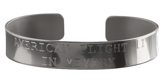 American Flight 11 - In Memory Bracelet