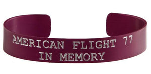 American Flight 77 - In Memory Bracelet