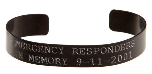 Emergency Responders - In Memory 911 Bracelet