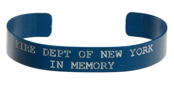 Fire Dept of New York - In Memory 911 Bracelet