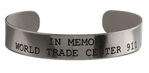 In Memory - World Trade Center 911 Bracelet