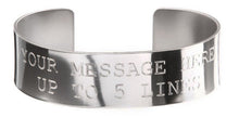 Load image into Gallery viewer, Stainless Steel Custom Memorial Bracelet