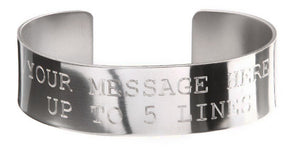 Stainless Steel Custom Memorial Bracelet