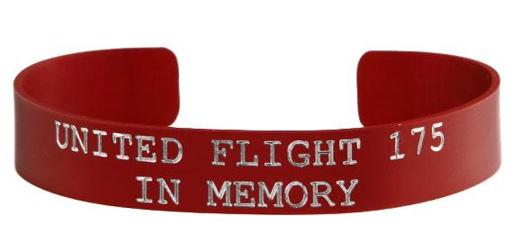 United Flight 175 - In Memory Bracelet