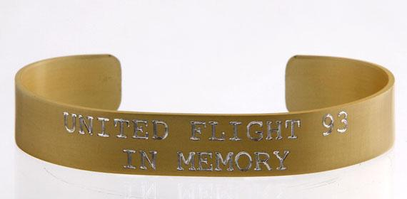 United Flight 93 - In Memory Bracelet