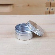 Metal Tin with Screw Lid