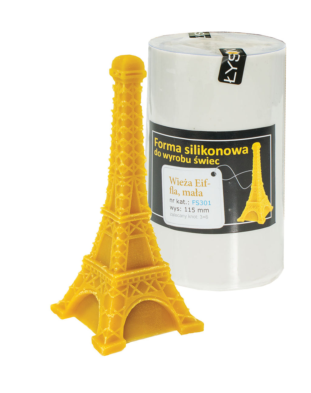 Eiffel Tower Candle Mold, small