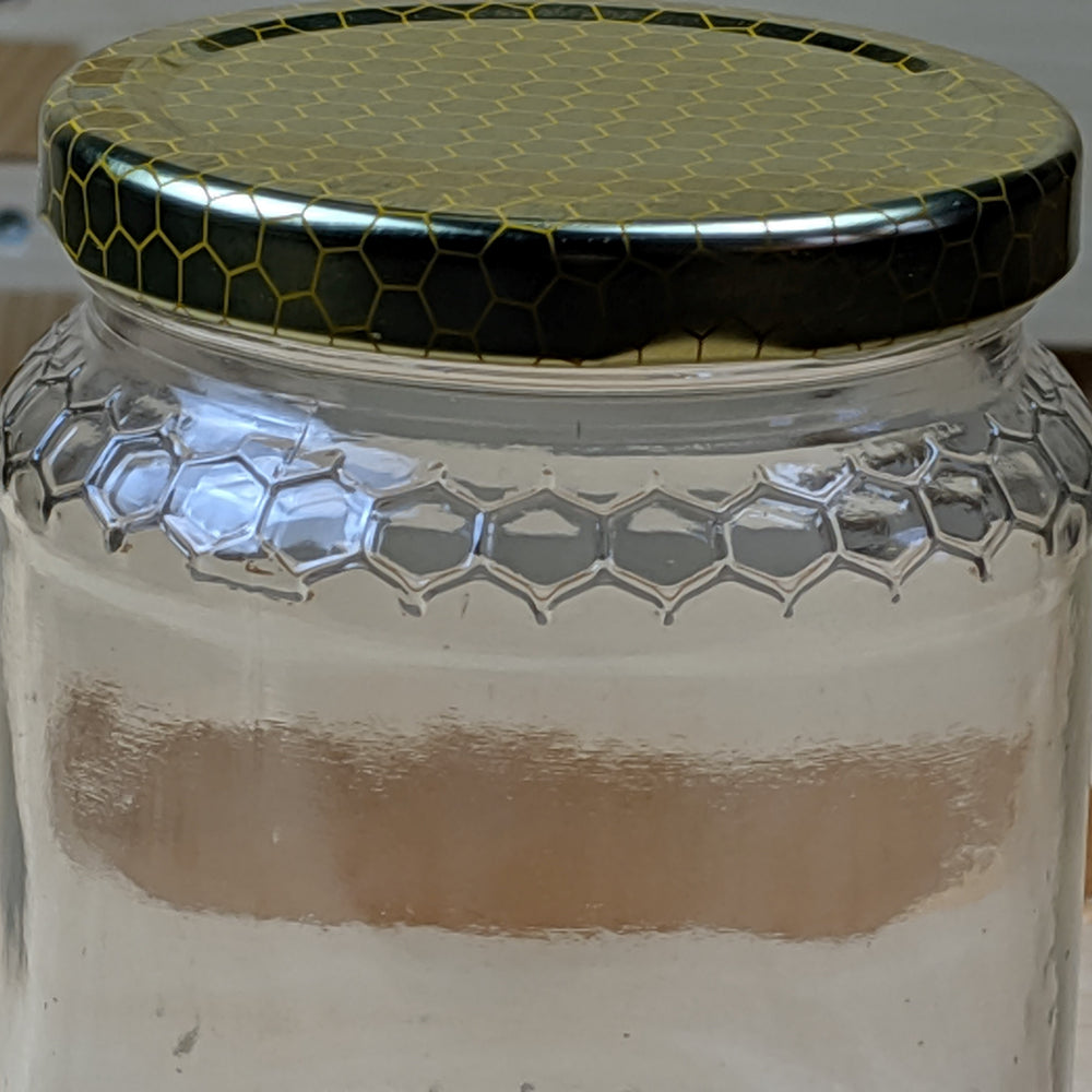 Meile Jar - Honeycomb Embossed Glass Jar