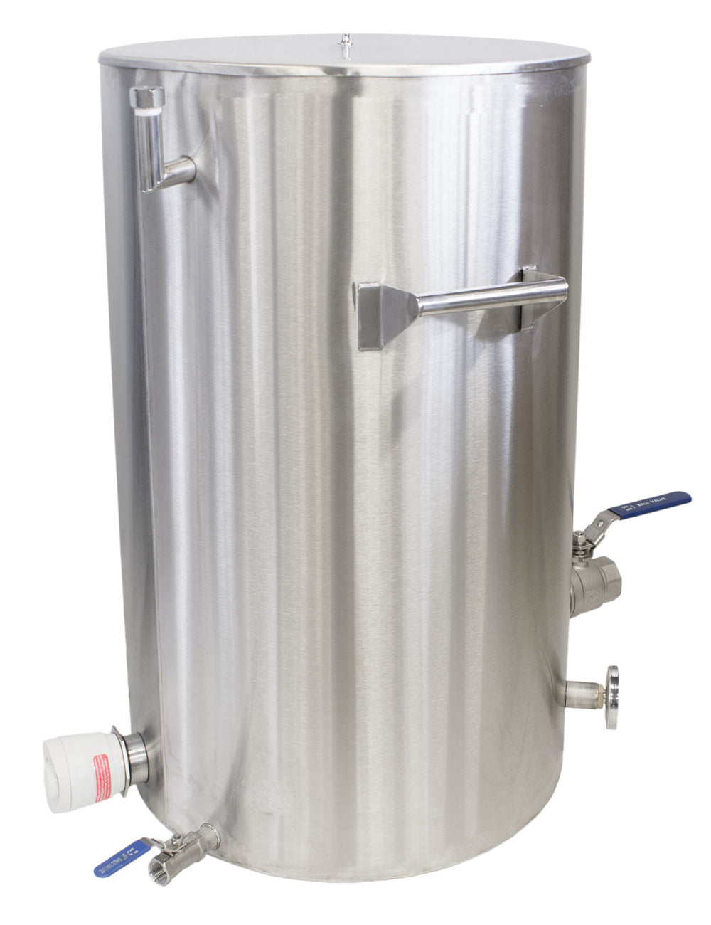 Lyson Water Jacketed 100KG Stainless Settler and Bottling Tank