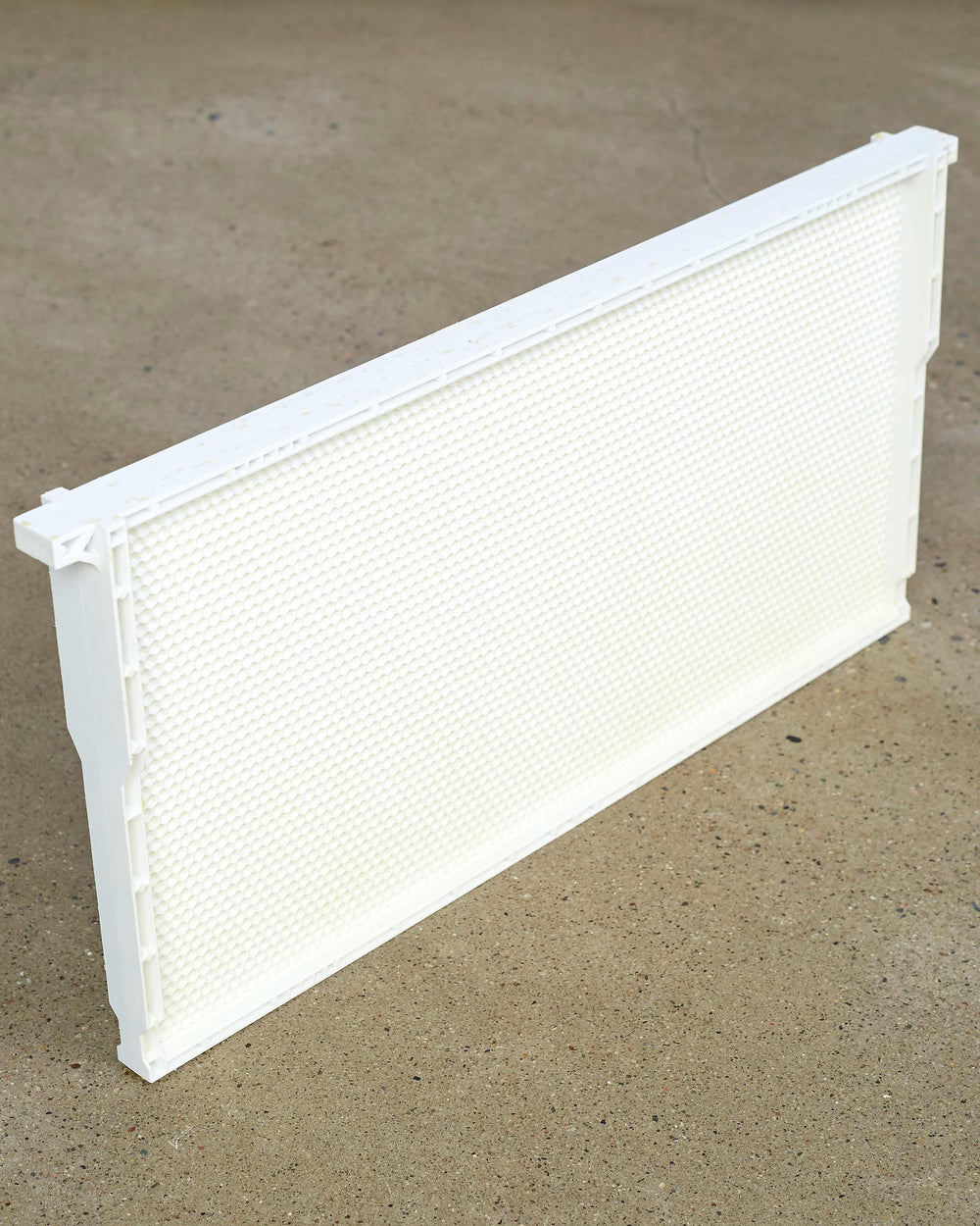 "9 1/8"" (Deep) White - One Piece Plastic Frame"
