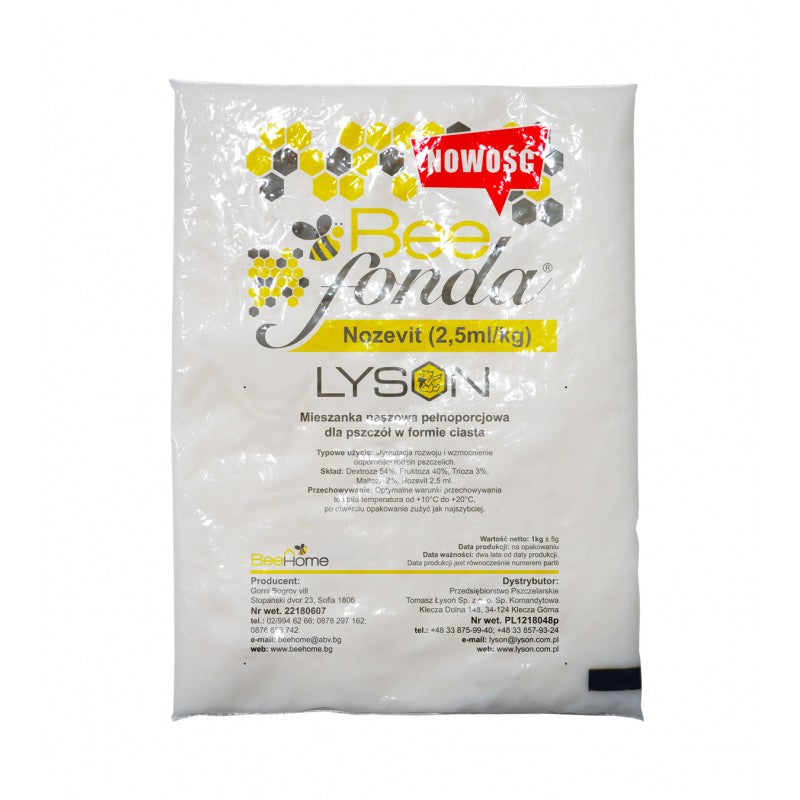 Lyson Bee Fonda (Bee Food) with Nozevit
