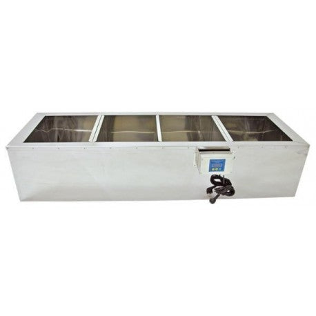 Stainless Steel Honey Sump - 1500mm, Heated
