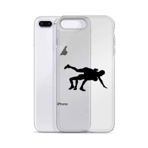 Lateral Throw iPhone Case - Lit Wrestling
