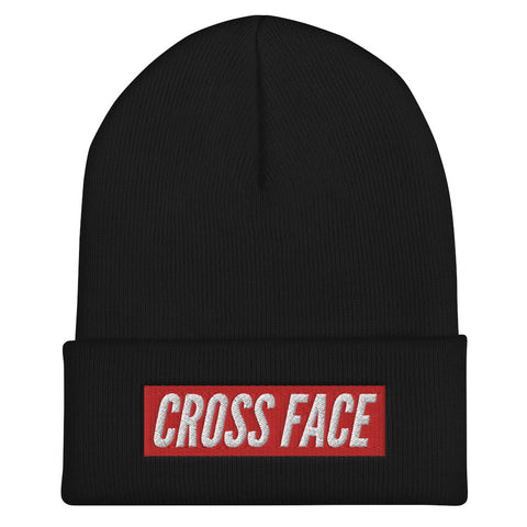 Cross Face Beanie