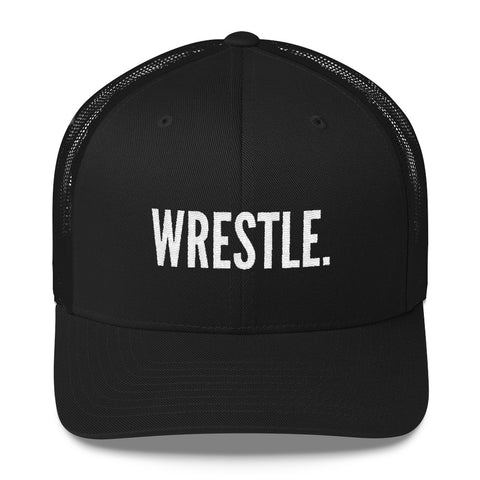 WRESTLE trucker hat - Lit Wrestling