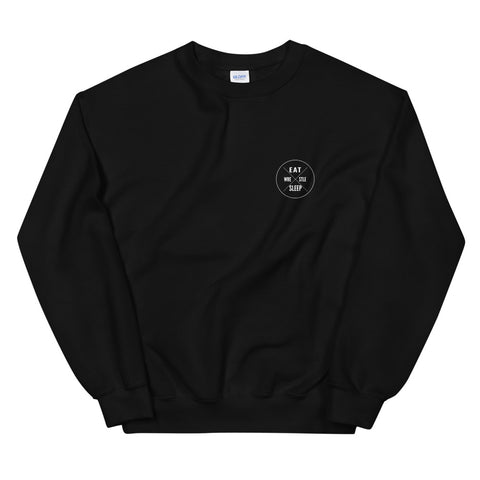 Eat Sleep Wrestle Crewneck
