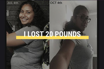 How I lost 20 pounds in 3 months?
