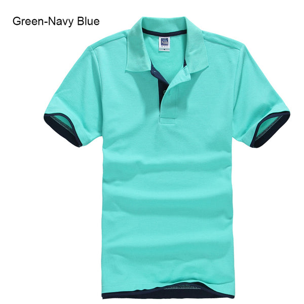 Plus Size XS-3XL Brand New Men's Polo Shirt High Quality Men Cotton Short Sleeve shirt Brands jerseys Summer Mens polo Shirts - JustRed.co.uk