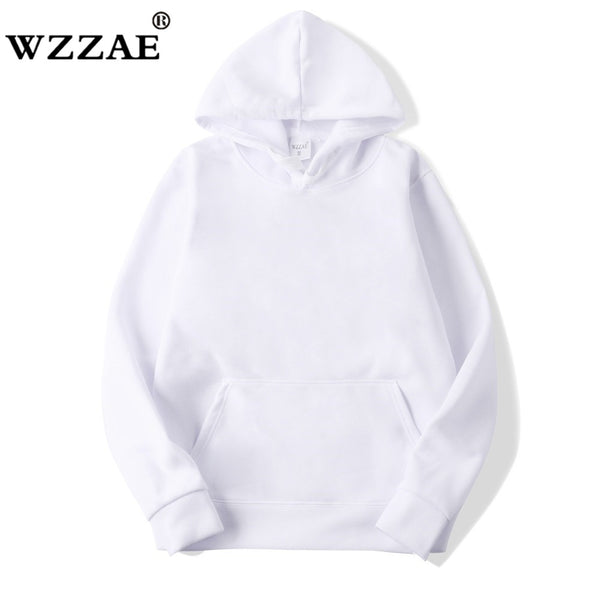 2018 New Casual pink black gray blue HOODIE Hip Hop Street wear Sweatshirts Skateboard Men/Woman Pullover Hoodies Male Hoodie - JustRed.co.uk