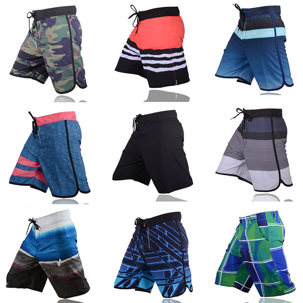 VANCHYCE  Summer Shorts Men Board Shorts Brand Swimwear Men Beach Shorts Men Bermuda Short Quick Dry Silver Men's Boardshorts