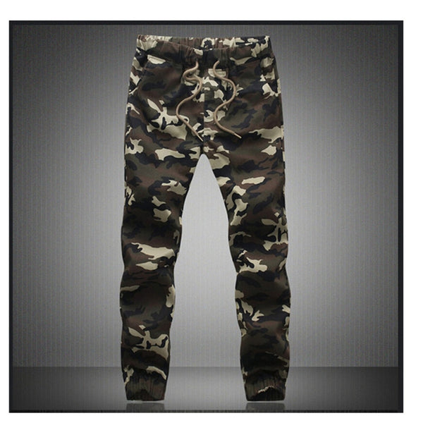 M-5X 2019 Mens Jogger Autumn Pencil Harem Pants Men Camouflage Military Pants Loose Comfortable Cargo Trousers Camo Joggers - JustRed.co.uk