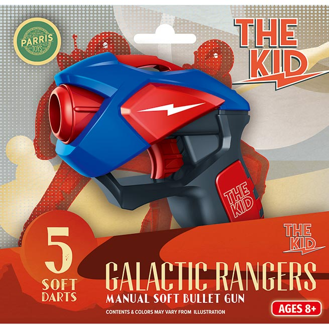 GALACTIC RANGERS THE KID BLASTER