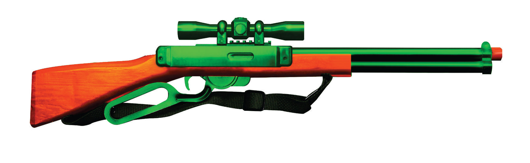 WESTERN REPEATER RIFLE Colored
