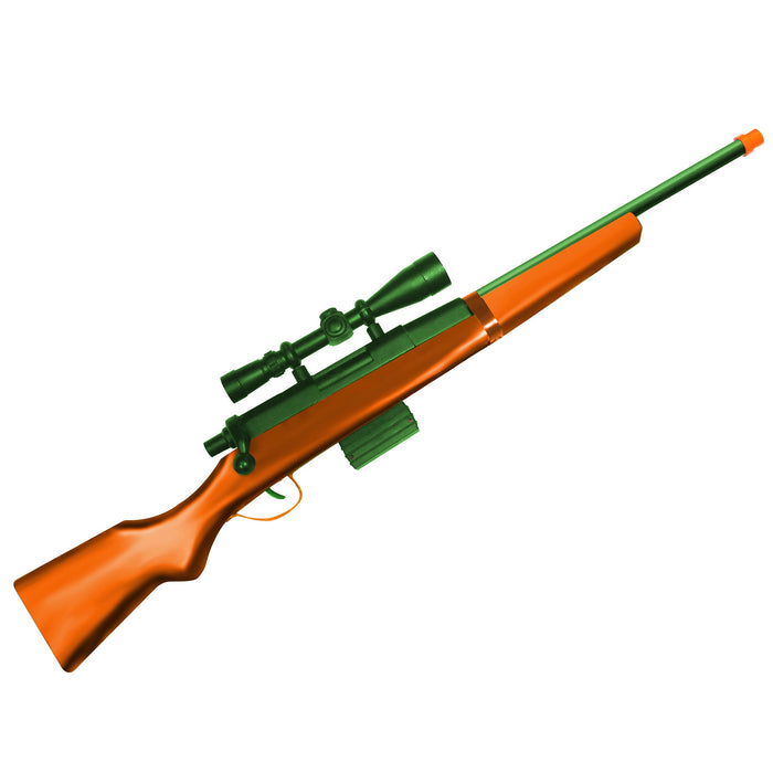 270 BOLT ACTION TOY RIFLE COLORED
