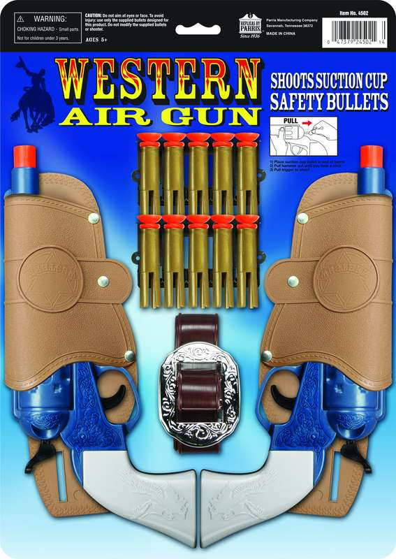 WESTERN AIR PISTOL DOUBLE HOLS