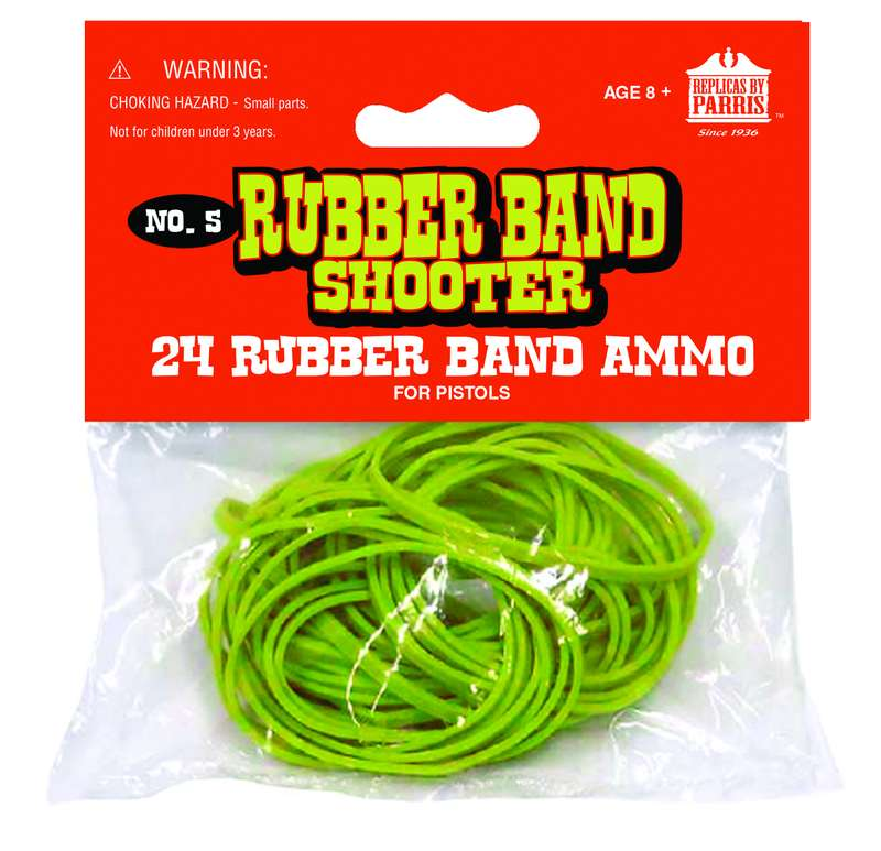 RUBBER BANDS FOR PISTOLS