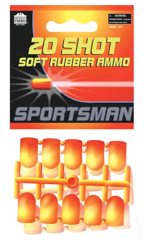 SOFT RUBBER AMMO