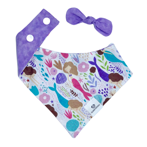 Lavender Mermaid Bandana