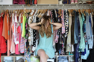 Spring Cleaning the Closet
